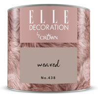 ELLE Decoration by Crown Premium Wandfarbe 'Weaved No. 438'  125 ml