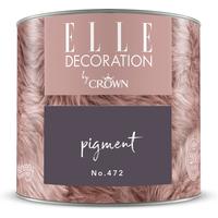 ELLE Decoration by Crown Premium Wandfarbe 'Pigment No. 472'  125 ml