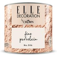 ELLE Decoration by Crown Premium Wandfarbe 'Fine Porcelain No. 506' 125 ml