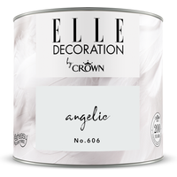 ELLE Decoration by Crown Premium Wandfarbe 'Angelic No. 606'  125 ml