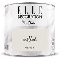 ELLE Decoration by Crown Premium Wandfarbe 'Nestled No. 625' 125 ml