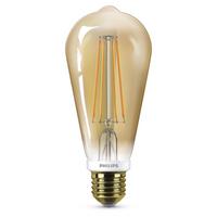 E27 LED-Lampe ST64 8 W in Gold, dimmbar (8718696575390)