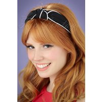 50s South Branch Hairband In Black