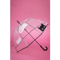 50s Black Cat Dome Umbrella