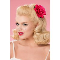 50s Verity Rose Hair Clip In Pink