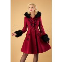 40s Anderson Coat In Red