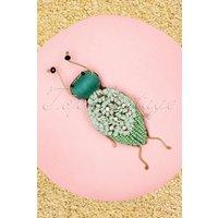 60s Mila Bug Brooch In Mint
