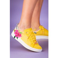 50s Rialy Rose Sneakers In Magnificent Yellow