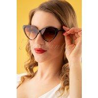 50s Amie Sunglasses In Brown