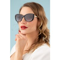 50s Oh My Pearl Sunglasses In Black