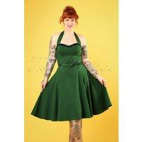 50s Beth Fringe Doll Dress In Green