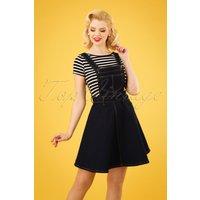 50s Dakota Pinafore Dress In Denim
