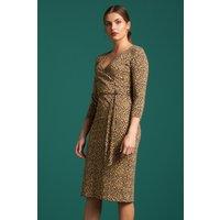50s Anja Perky Dress In Marzipan