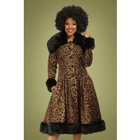 30s Pearl Coat In Leopard