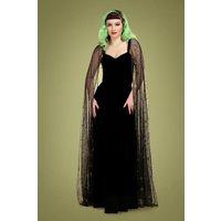 50s Celeste Occasion Maxi Dress In Black