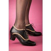 40s Farren Shoe Booties In Black