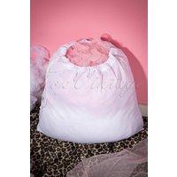 Petticoat Wash Bag In White