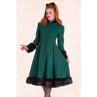 30s Elvira Coat In Deep Green