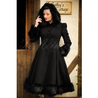 30s Elvira Coat In Black