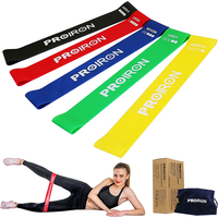 PROIRON Resistance Loop Band Set - 5 Exercise Bands