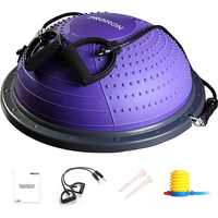 PROIRON Balance Trainer Purple with Resistance Bands & Pump
