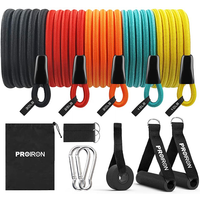PROIRON Resistance Band Set with Handles, Ankle Straps and Door Anchor