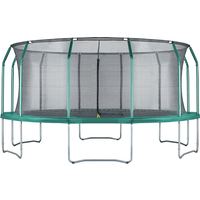 Big Foot 16ft Trampoline + Safety Enclosure Green