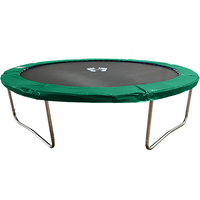 Air League 8ft Trampoline Green
