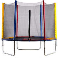 Big Air 8ft Trampoline with Safety Enclosure
