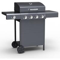 Embermann Grill Master 4 Burner Barbecue with Side Burner