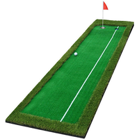 Hilllman PGM Golf Artificial Turf Two Hole Putting Green