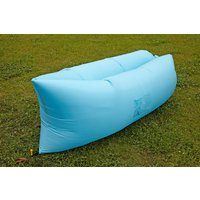 Air King Inflatable Lounger Light Blue