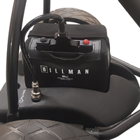 Hillman Lithium Golf Trolley 16ah - 18-27 Hole Battery Set