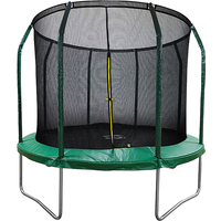 Air League 8ft Trampoline with Enclosure Green