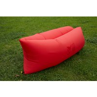 Air King Inflatable Lounger Red
