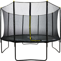 Air Dog 14ft Powder Coated Trampoline with Safety Enclosure