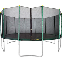 Air Dog 16ft Trampoline + Enclosure