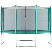 Air Dog 14ft Trampoline + Safety Enclosure