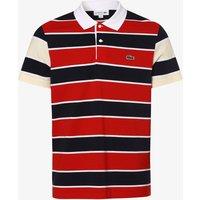 Lacoste Herren Poloshirt rot Gr. 7
