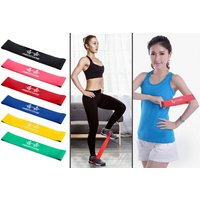 £4.99 instead of £19.99 (from WowWhatWho) for a six-pack of resistance exercise bands –save 75% - Bands Gifts