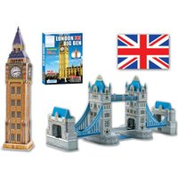 £9 instead of £39.99 for a 3D jigsaw puzzle from Direct2Public Ltd - save 77% - Jigsaw Gifts