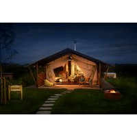 £399 (at Love 2 Stay, Shrewsbury) for a three-night midweek glamping lodge stay for up to six with private hot tub, assault course session, paddle boarding session and outdoor cinema tickets, or £449 to include a Fri-Sat night stay - save up to 46% - Cinema Gifts