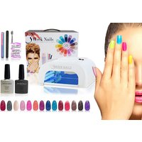 £29.99 instead of £199 (from 3 Week Nails) for a 12-piece UV gel nail polish and accessories kit, £39 for a 15-piece - save up to 85% - Nails Gifts
