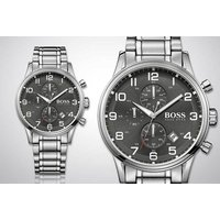 We think it's about time you check out this men's Hugo Boss Aeroliner chronograph watch! - Hugo Boss Gifts