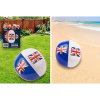 £2.99 instead of £9.99 for a giant union jack inflatable beach ball from London Exchain Store - save 70% - Inflatable Gifts