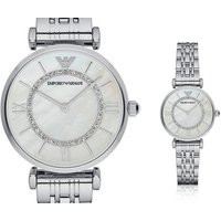 £109 instead of £309.01 (from Ticara Watches) for a ladies Emporio Armani AR1908 silver-tone watch - save 65% - Armani Gifts