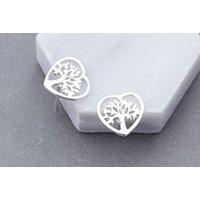 Get a pair of tree of life heart earrings and jazz up any outfit! - Life Gifts