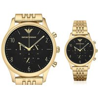 Get a deal to dial for with a gold-plated Emporio Armani AR1983 men's watch! - Armani Gifts