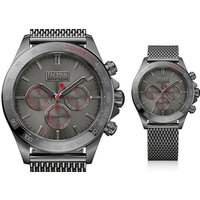 £139 instead of £299 (from Best Watch Company) for a Hugo Boss HB1513443 gunmetal chronograph watch - save 53% - Hugo Boss Gifts