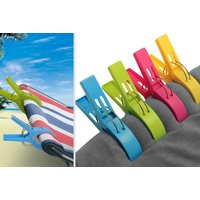 £6.99 instead of £24.99 (from Bellap) for a pack of eight large beach towel pegs - save 72% - Towel Gifts